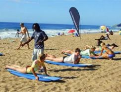 Surfing lessons Ballito
