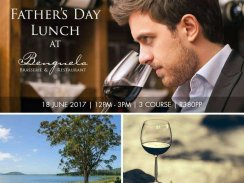 Father's Day Lunch at Benguela Brasserie