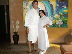Happy Health Spa Guests at Sparkling Waters Hotel and Spa