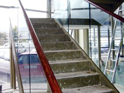 Glass balustrading Cape Town