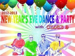 New Year's Eve Dance & Party with CLOUD 9 at Scarab