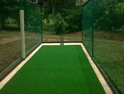 Cricket turf for practice pitch