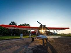 The SA made Bat Hawk has a larger six-cylinder Jabiru engine
