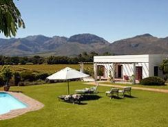 country accommodation in the Cape Winelands - Paarl