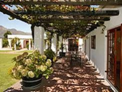 typical Cape Winelands accommodation