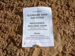 Glendore Processed Building Sand
