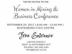 Women in Mining & Business Conference