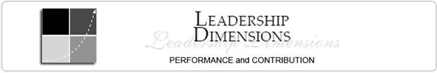 Leadership Dimensions – Dr Barbara Johnson