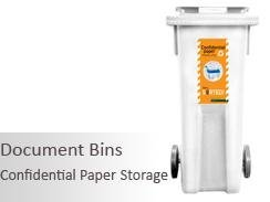 Document Lock Wheelie Bins