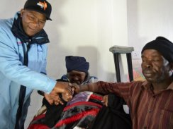 HOUSE HANDOVER FOR 94-YEAR GRANNY