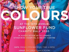 14th Annual Sunflower Fund 'Glamorous' Charity Ball