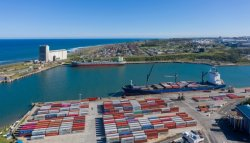 East London port's essential role