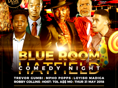 Blue Room Comedy Night | Thu 31 May 2018