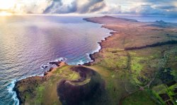 First world-record swim Easter Island