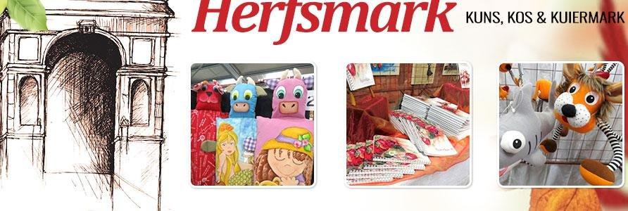 Herfsmark in Harties
