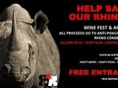 Wine Festival and Auction for Rhino Conservation