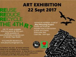 Annual Art exhibition in aid of JBay Recycling Project