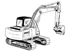 excavator hire in White River