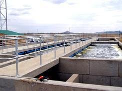 Aqua Centre, water and sewage treatment plants
