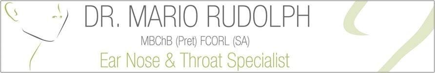 Dr Rudolph – Ear, Nose & Throat Specialist