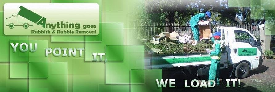 Anything Goes Rubbish & Rubble Removal Pretoria