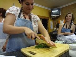 Cooking classes for the novice