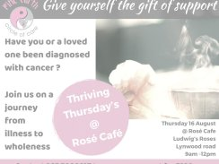 Pinc Earth Circle of Care – Cancer Support at Rose Café