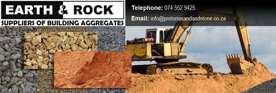 Earth & Rock is a trusted supplier of sand, stone, building aggregates and landscaping products