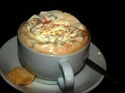 cappucinos at Kenny Gees