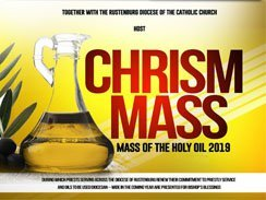 Chrism Mass – Mass Of The Holy Oil 2019